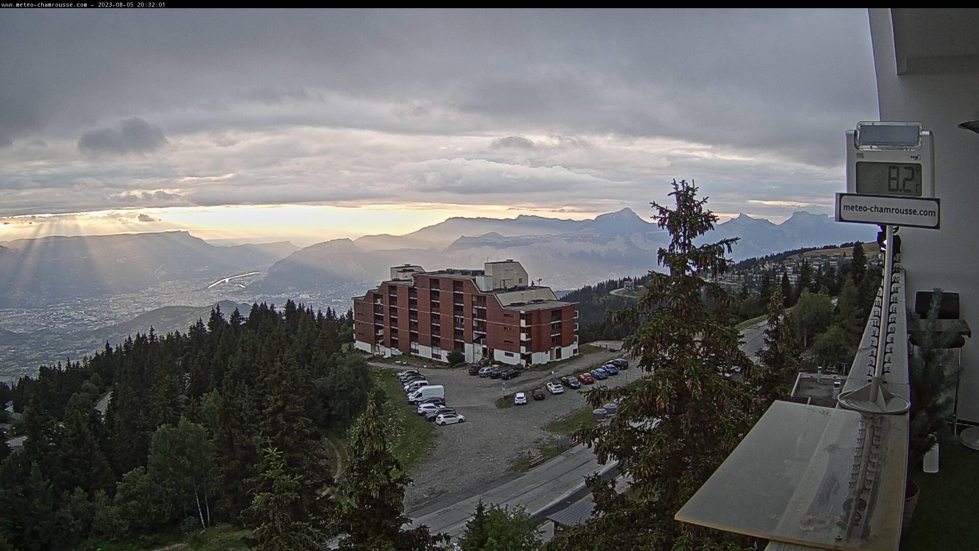 Ski Resort Chamrousse Live Cam, France